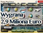 Wygrana 2,9 miliona Euro Mega Fortune